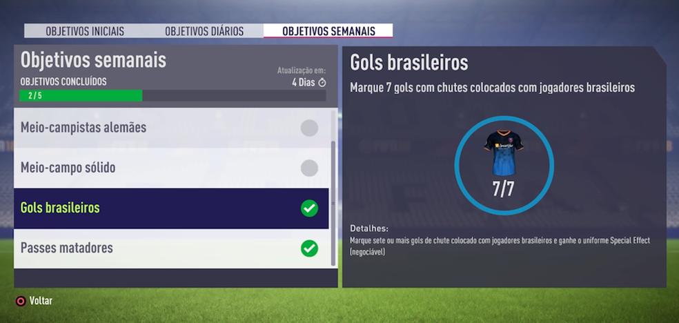 FIFA 18: Como conseguir uniformes raros no modo Ultimate Team (Foto: Reprodução/Felipe Vinha)