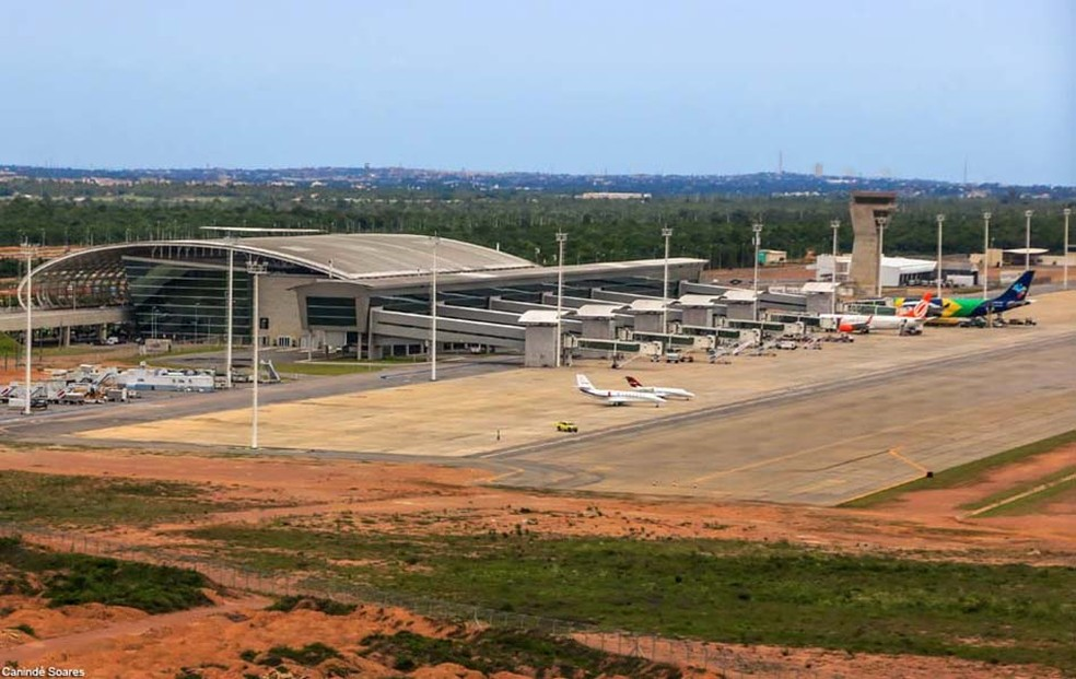 Aeroporto Internacional Gov. Aluízio Alves, em São Gonçalo do Amarante (Foto: Canindé Soares)