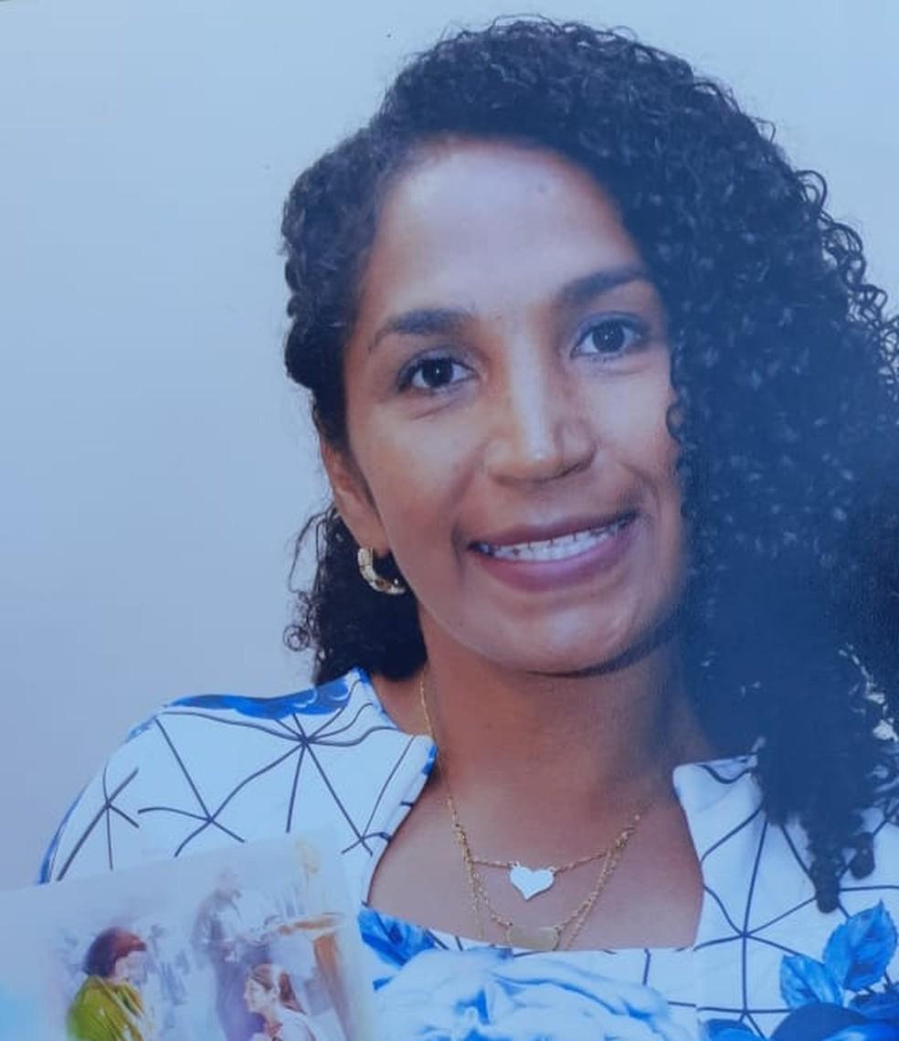 Josefa Marileide Roza foi socorrida a uma policlínica, mas não resistiu aos ferimentos — Foto: Arquivo pessoal