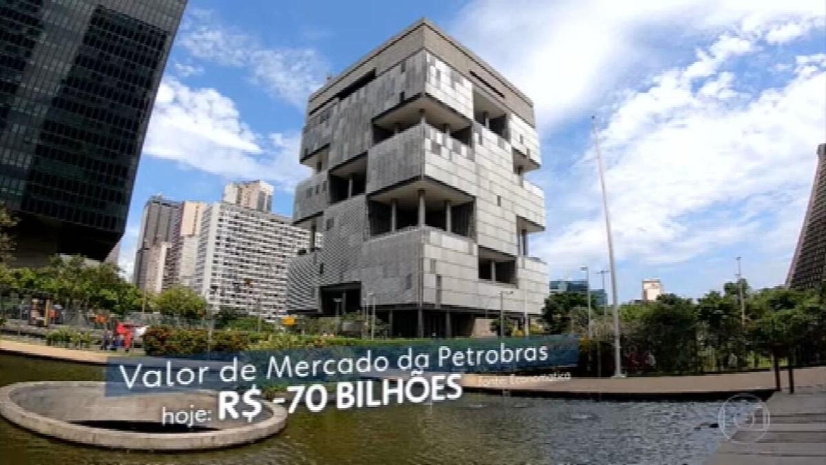 Bovespa cai quase 5% com intervenção na Petrobras; ações da estatal recuam em 20%