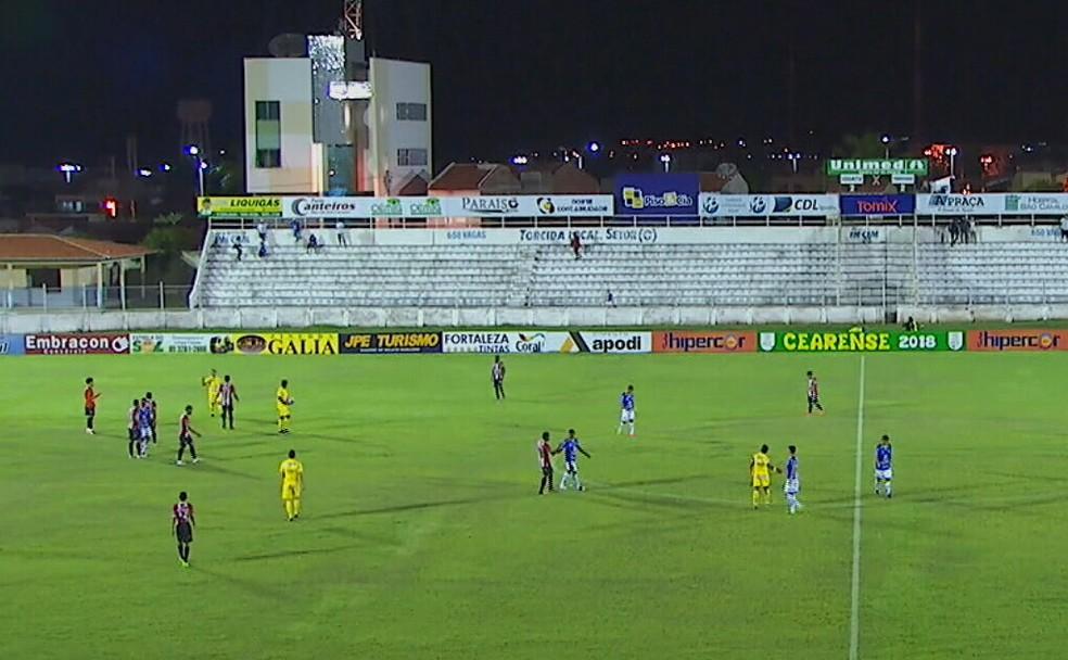 Estádio Morenão recebe partida entre Iguatu e Floresta, neste sábado (10) (Foto: Reprodução)