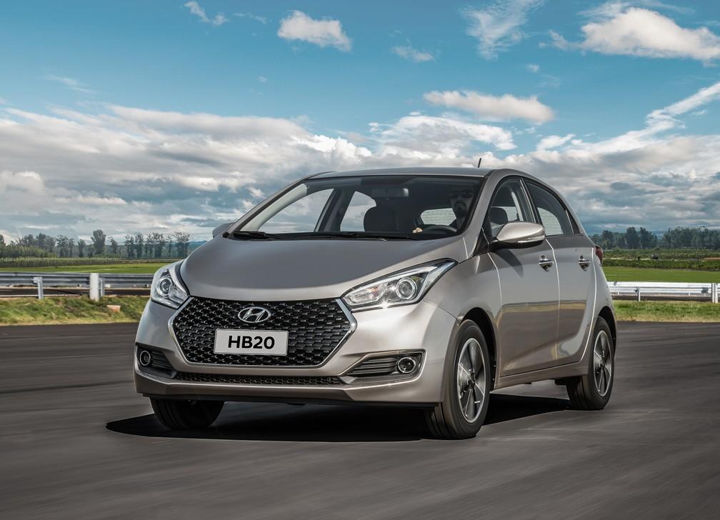 Hyundai HB20 2019 (Foto: Divulgação)