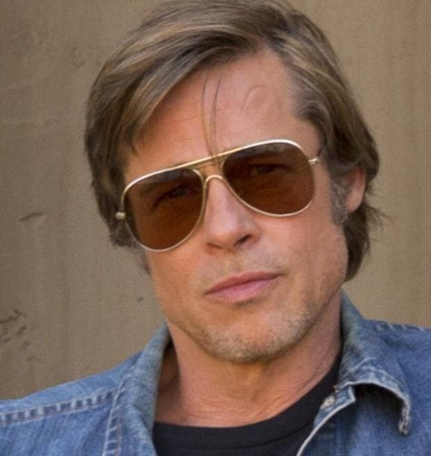 Brad Pitt com Photoshop (Foto: Divulgação/Sony)