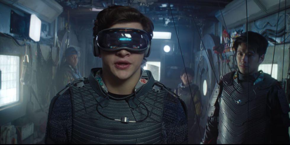 Tye Sheridan como Wade, protagonista do filme Jogador Número 1 (Foto: Divulgação)
