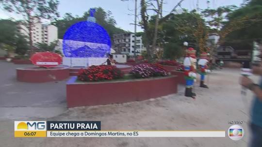 #Partiupraia chega a Domingos Martins e encontra clima natalino