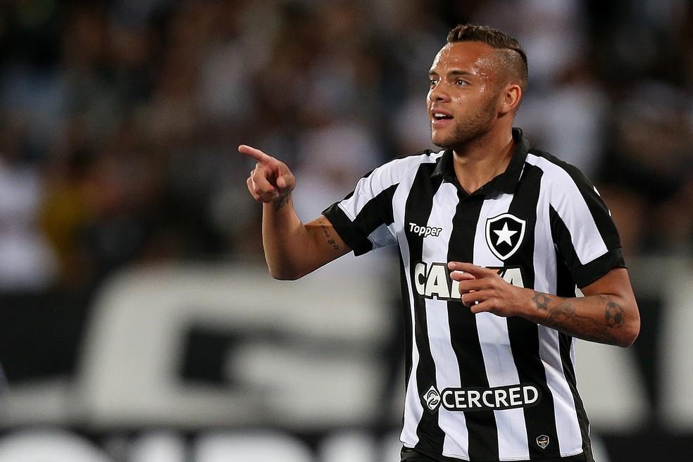 Guilherme já fez cinco gols e deu cinco assistências no Botafogo (Foto: Vitor Silva / SS Press / Botafogo)