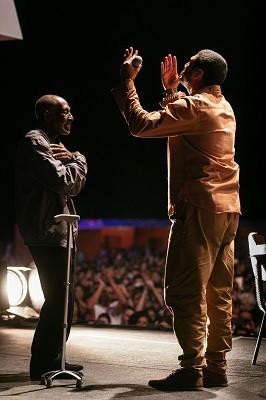 Nelson Sargento e Criolo no Mimo Festival