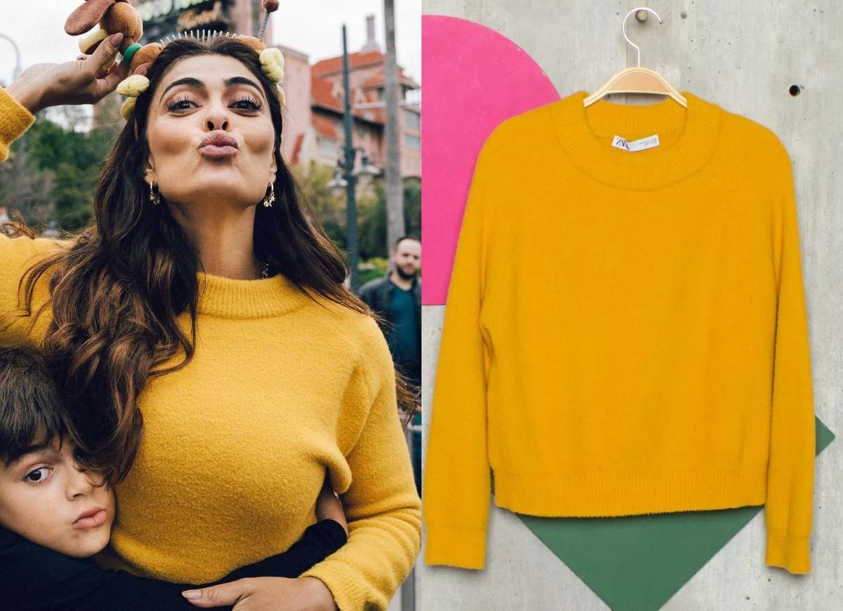 Juliana Paes coloca roupas à venda (Foto: Reprodução/Instagram/enjoei)