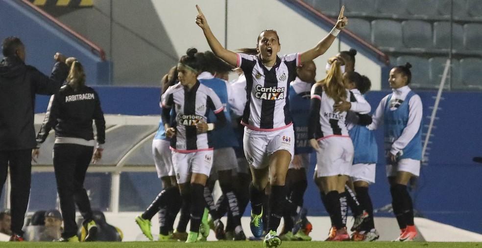 Santos é o atual campeão brasileiro (Foto: Agência Estado)