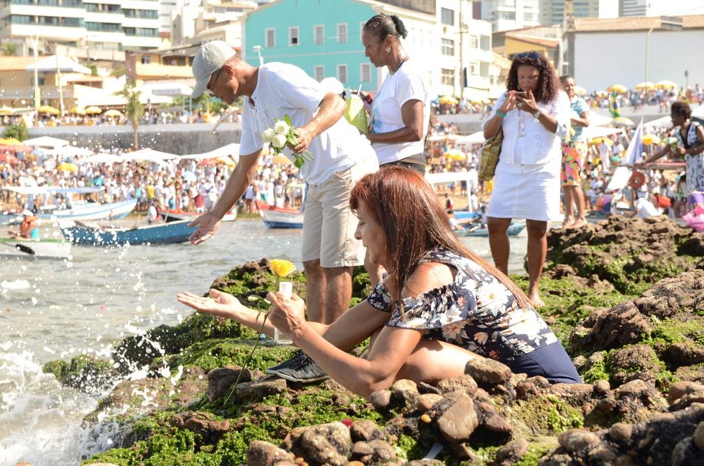 Festa de Iemanjá 2019 — Foto: Roberto Viana/Ag. Haack