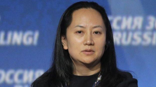 Meng Wanzhou foi presa durante uma conexão em Vancouver, no Canadá (Foto: Getty Images via BBC News Brasil)