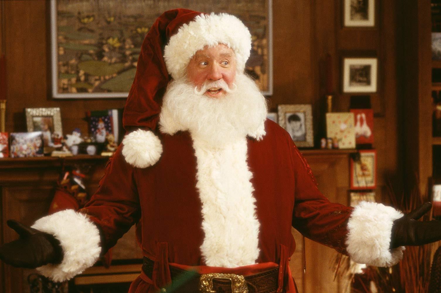 O ator Tim Allen em cena de Meu Papai é Noel (1994) (Foto: Reprodução)