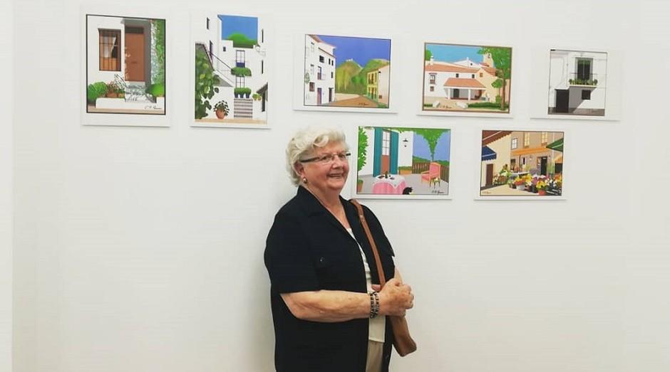 Concha García Zaera, espanhola famosa por fazer desenhos no Paint (Foto: Reprodução/Instagram)