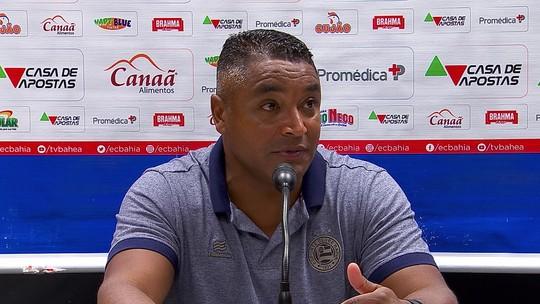 VÍDEO: assista à íntegra da entrevista de Roger Machado após derrota do Bahia para o Flu