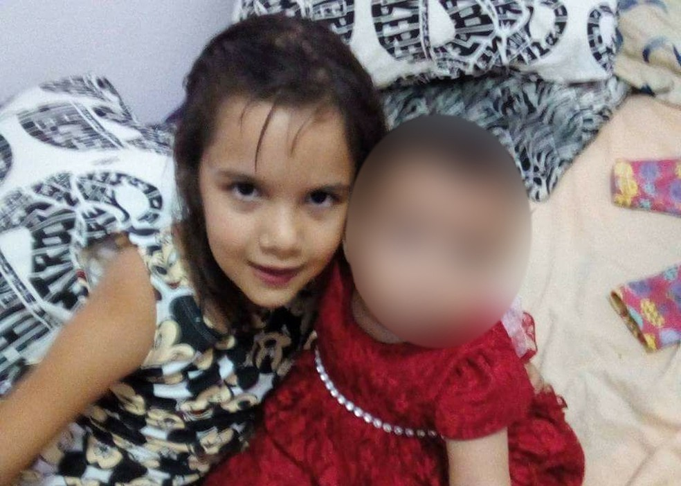 Giovana, de 8 anos, foi encontrada em uma obra em Ibitinga — Foto: Reprodução/TV TEM
