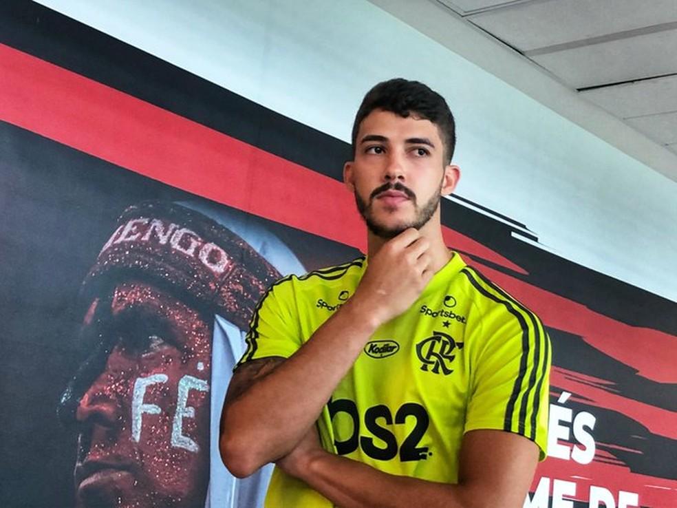 Gustavo Henrique zagueiro do Flamengo  — Foto: Divulgação CRF