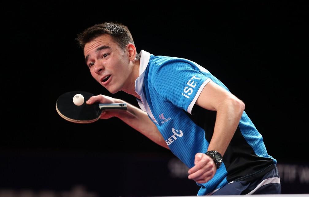Hugo Calderano já havia vencido o número 1 do mundo e um chinês quarto do ranking (Foto: Divulgação)