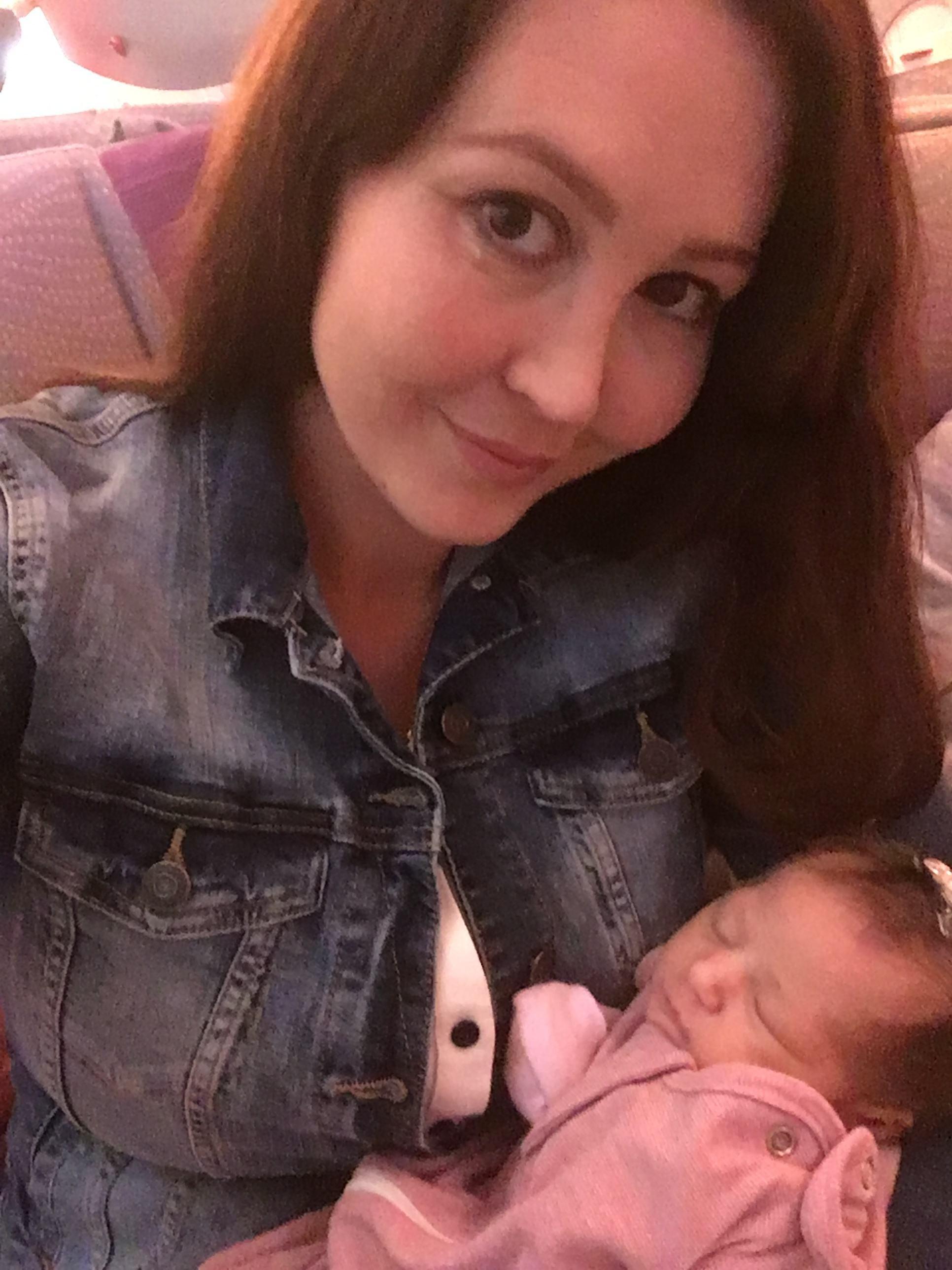 Aria Nichols e a filha Lamees (Foto: Arquivo pessoal)