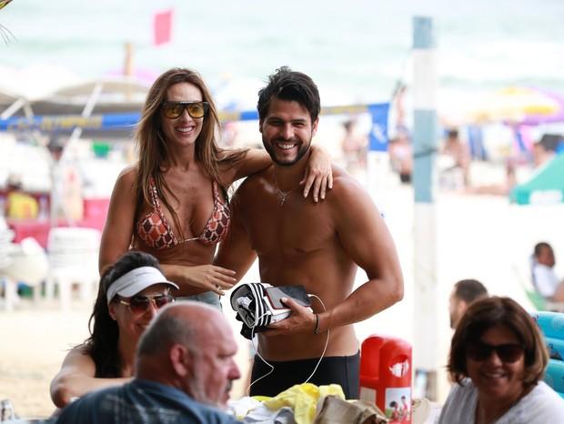 Nicole Bahls e Marcelo Bimbi (Foto: AgNews/Dilson Silva)