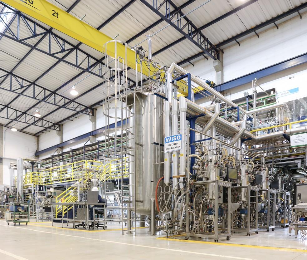 Estrutura do Laboratório Nacional de Biorrenováveis (LNBR), em Campinas (SP) — Foto: Erik Nardini/CNPEM