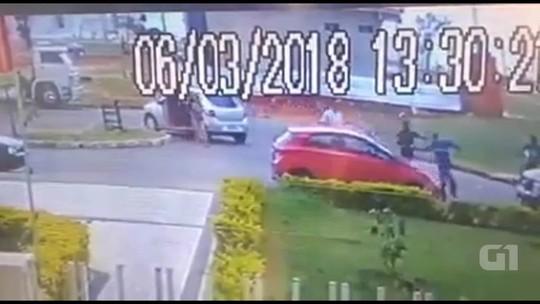 Assaltantes cercam família em Samambaia, no DF; vídeo