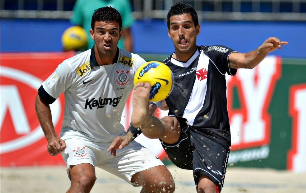 Jogador defende as cores do Vasco há 19 anos — Foto: Divulgação / Inovafoto