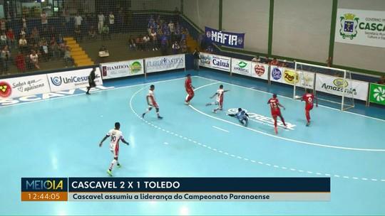 Cascavel futsal vence o Toledo