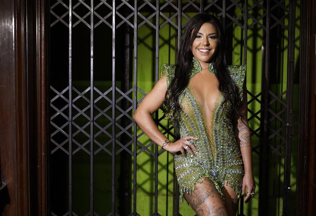 Giovana Angélica posa para ensaio exclusivo do G1 — Foto: Marcos Serra Lima/G1