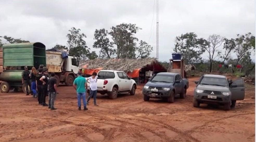 Mais de 55 trabalhadores foram resgatados no Maranhão em 2019. — Foto: Reprodução/TV Mirante