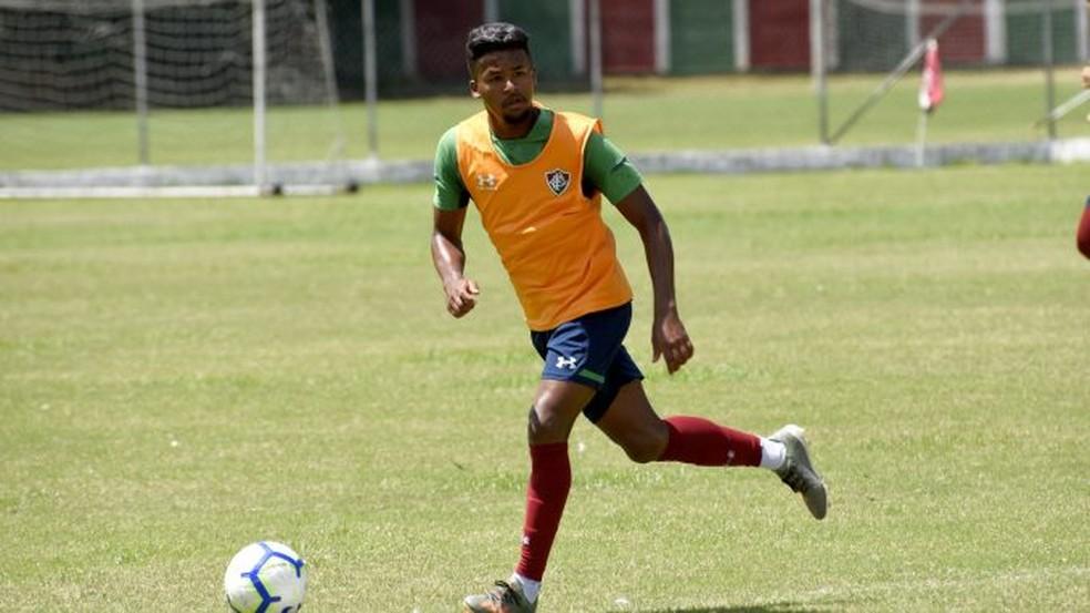 Jefferson, do sub-20 do Fluminense — Foto: Mailson Santana / Fluminense F.C.