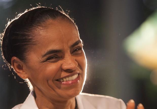 A candidata da Rede Sustentabilidade, Marina Silva em imagem de setembro de 2014 (Foto: Vagner Campos/MSILVA Online (30/09/2014))