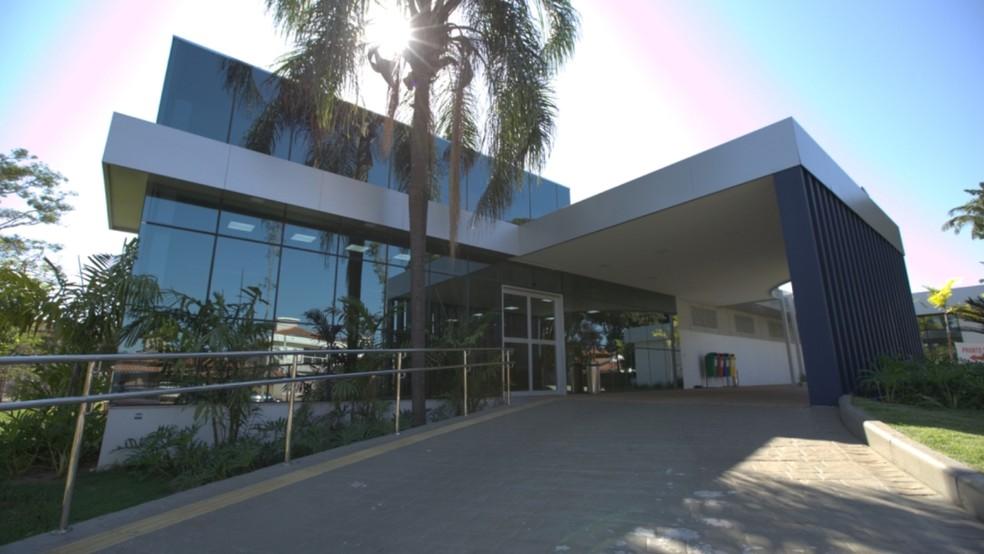 São Lucas Hospital, em Ribeirão Preto, é uma das melhores e mais completas estruturas médico-hospitalares do país.  — Foto: Crédito: Divulgação/ SLH