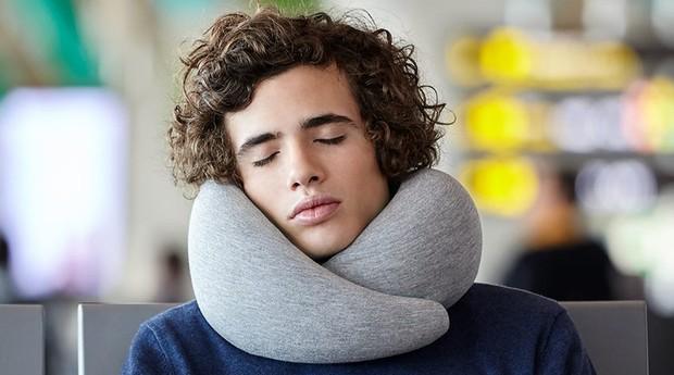 O Go foi feito especialmente para longas viagens (Foto: Reprodução/Facebook/Ostrich Pillow)