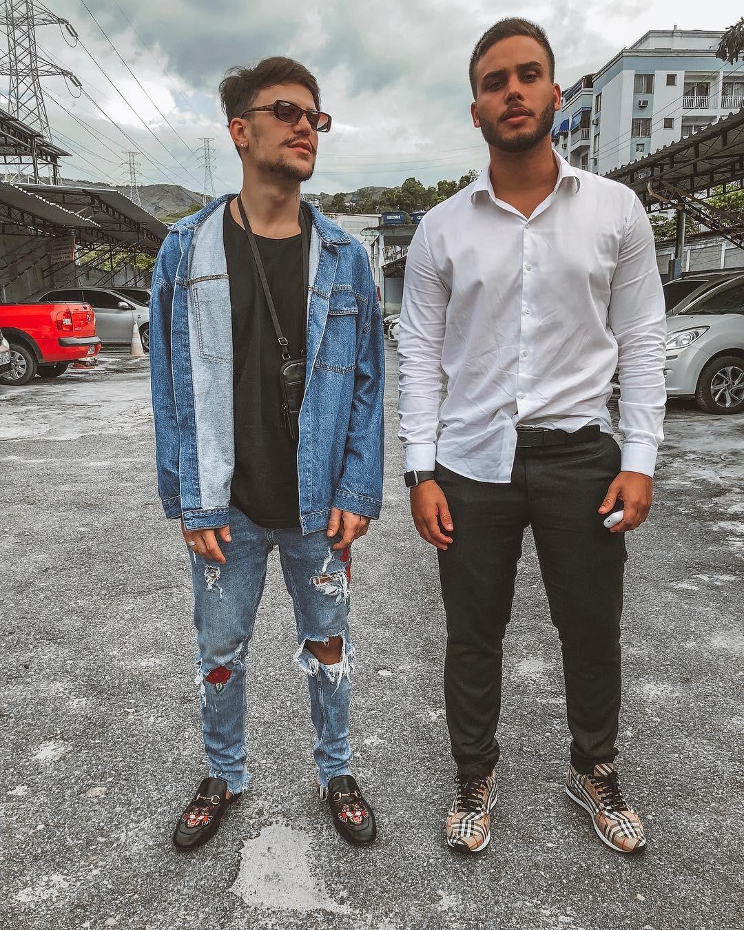 Saulo Poncio e Jonathan Couto (Foto: Reprodução / Instagram)