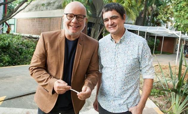 Marcelo Tas e Samuel Rosa (Foto: Divulgação)