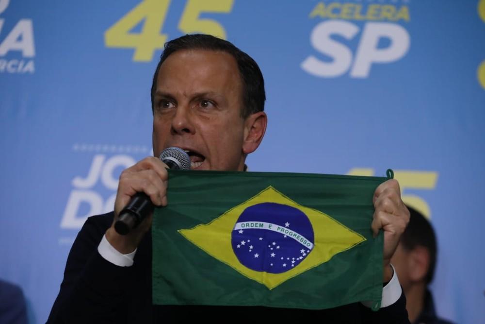 Doria declara apoio a Bolsonaro
