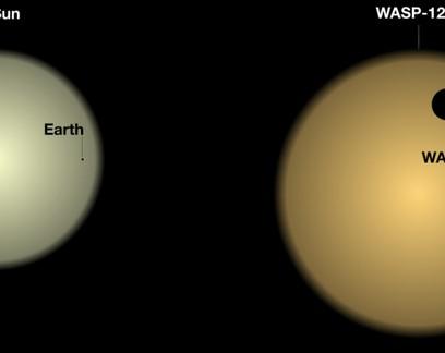 """Astrônomos detectam """"nuvens"""" em  exoplaneta a 525 anos-luz da Terra"""
