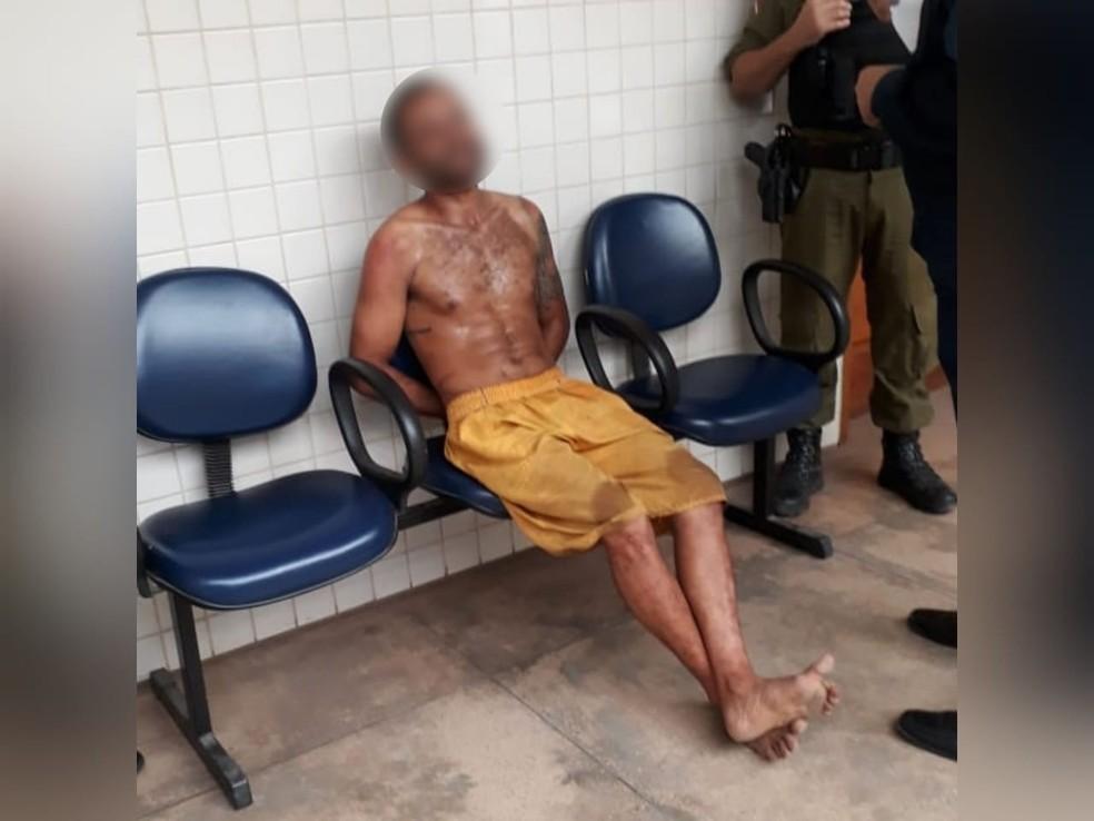 David dos Santos Gomes foi liberado de prisão e menos de 24 horas depois apresentado na delegacia de Santarém — Foto: Reprodução/Redes Sociais