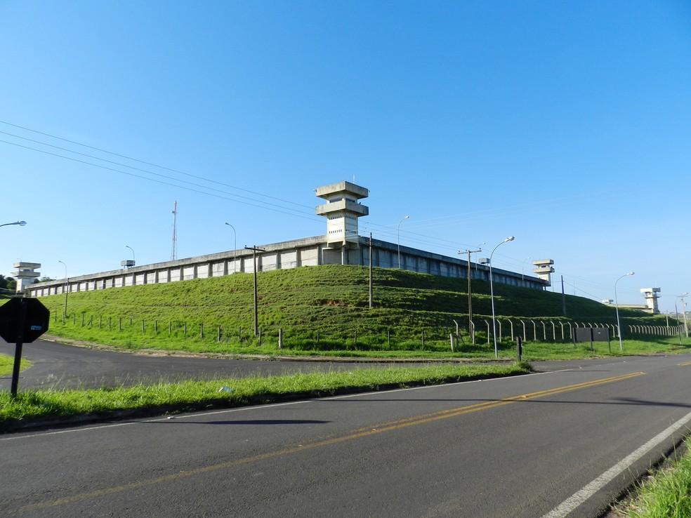 Penitenciária 'Silvio Yoshihiko Hinohara', em Presidente Bernades (Foto: Arquivo/G1)