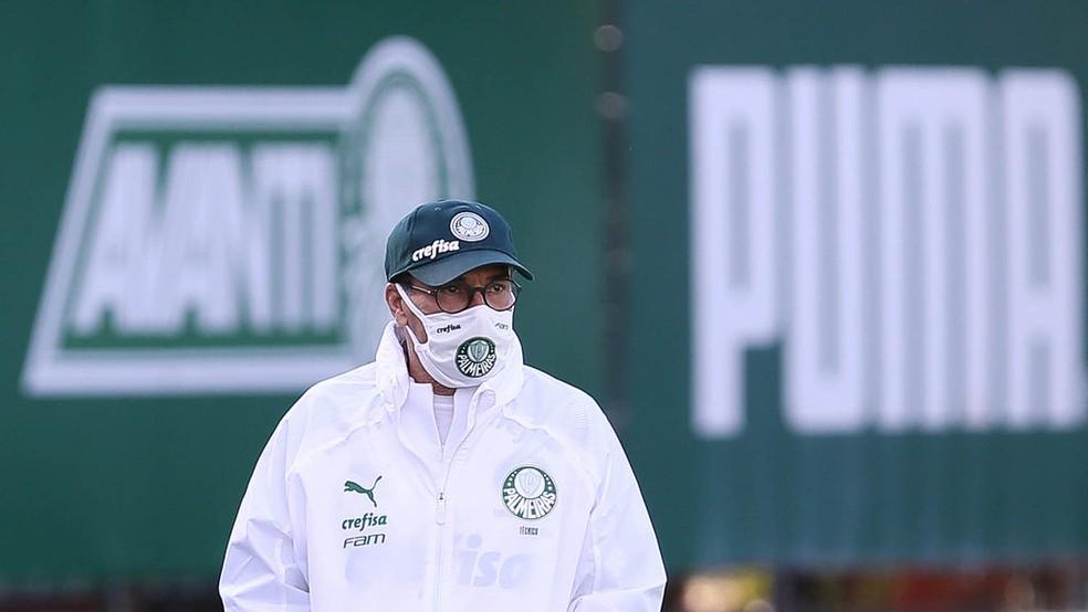 Urgente: Luxemburgo testa positivo para Covid-19 e é afastado do Palmeiras
