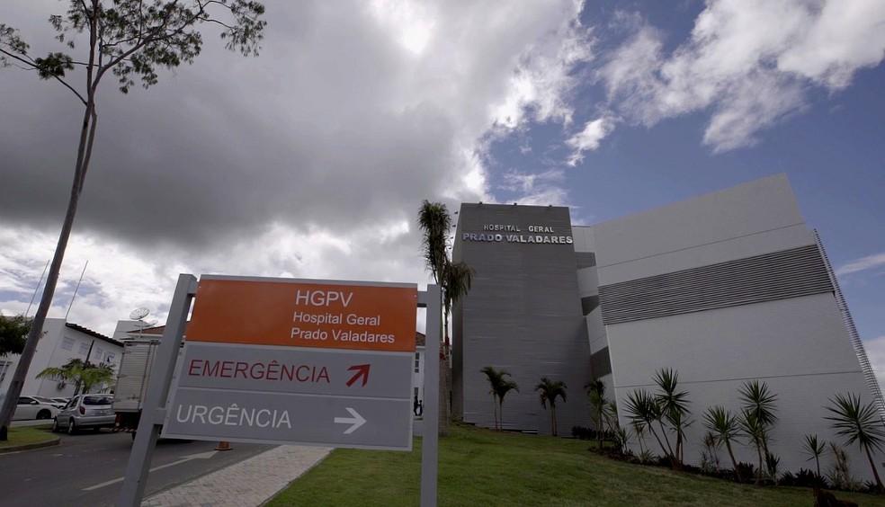Hospital Prado Valadares, em Jequié — Foto: Saúde/GOVBA