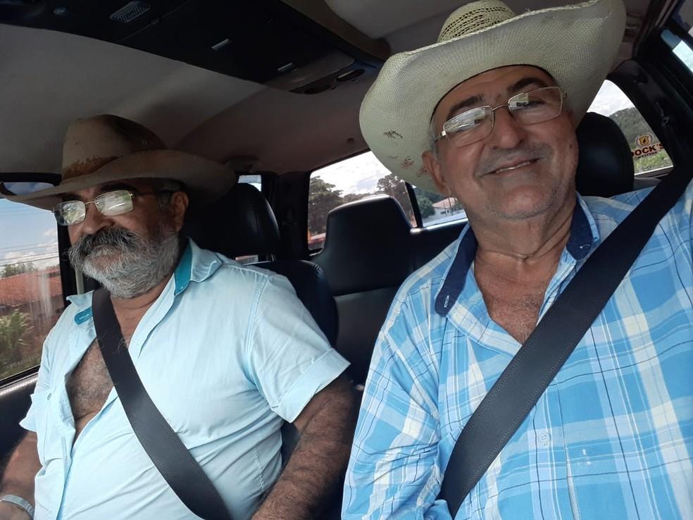 Paulo comprou uma cota em parceria com o padrinho dele Marcos Nonato — Foto: Paulo Batista/Arquivo pessoal