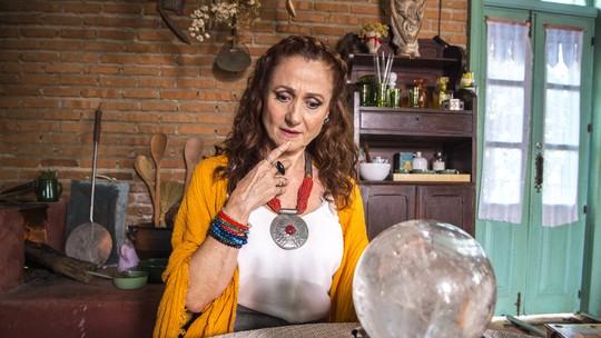 Zezé Polessa se despede de Milu e revela aparição sobrenatural da esotérica