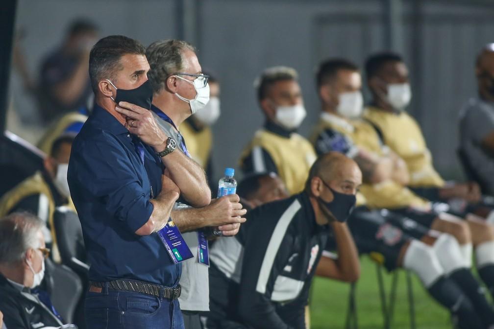 Vagner Mancini em River Plate-PAR x Corinthians — Foto: Staff Images/Conmebol