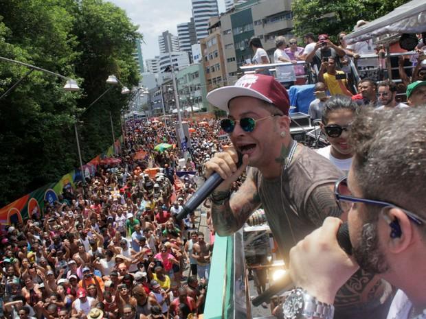 Kannário no Arrastão (Foto: Robson Oliveira/Ag Haack)