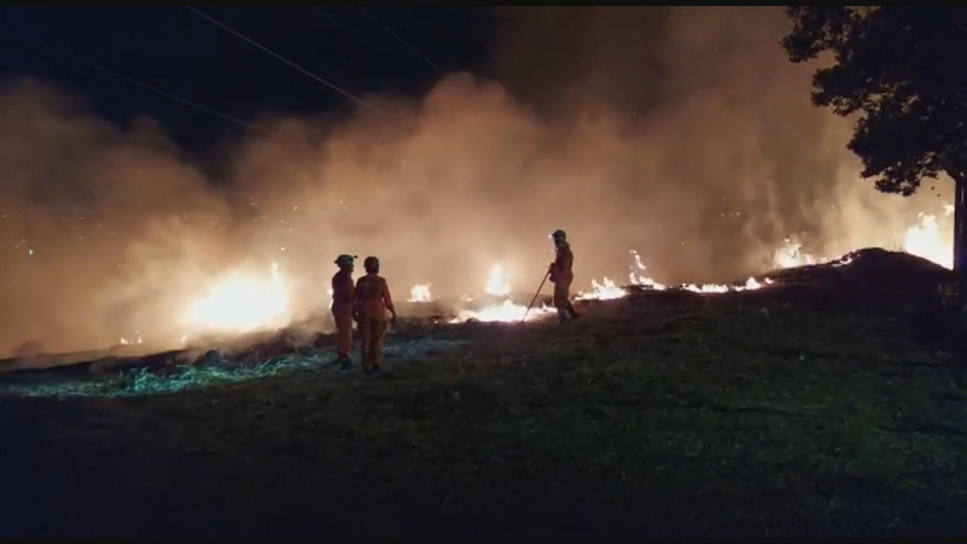 Bombeiros suspeitam de incêndio criminoso em parque de BH