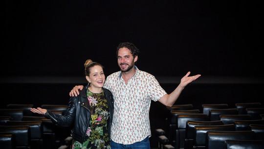Leandra Leal e Manolo Cardona revelam curiosidades dos bastidores de 'Love Film Festival'; vídeo