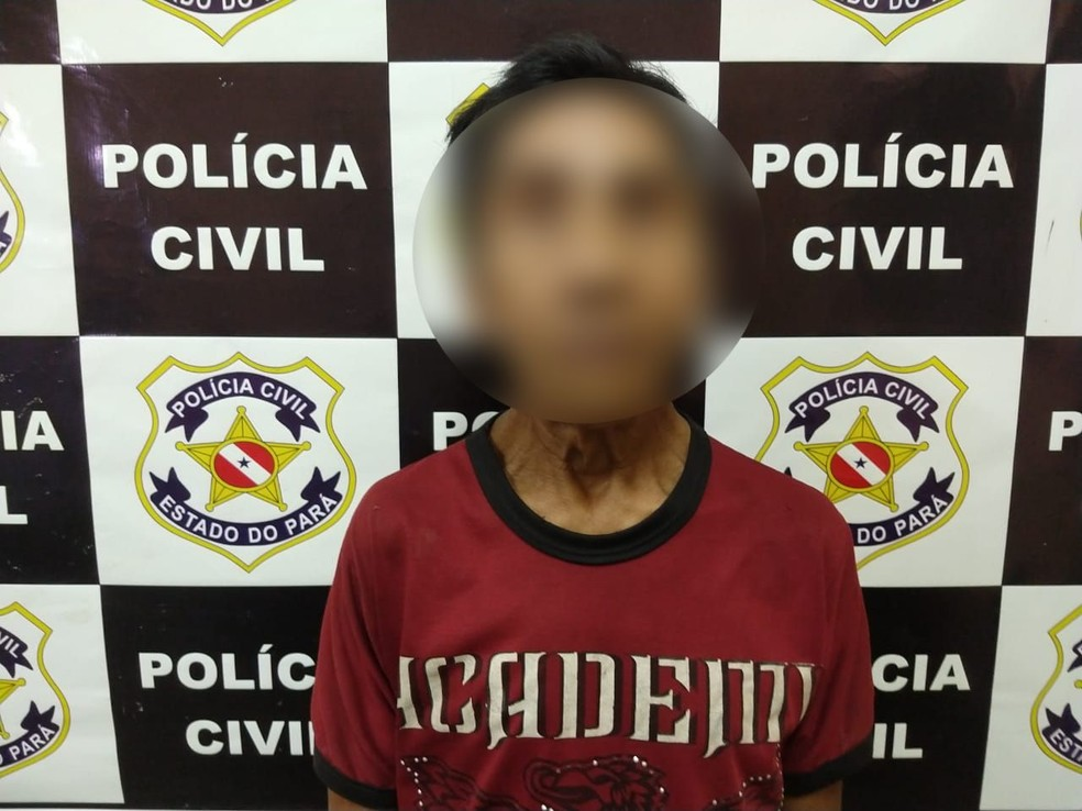 Marcelo Sampaio, o Índio, suspeito de abusar sexualmente de suas filhas de 9 e 11 anos — Foto: Polícia Civil/Divulgação