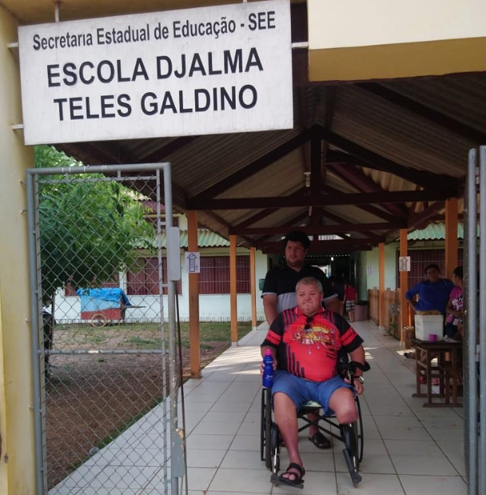 José Emílio Filho, de 53 anos, disse que foi orientado a justificar o voto, mas lamentou não ter votado  — Foto: Arquivo Pessoal