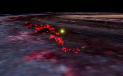 """Astrônomos descobrem maior """"berçário"""" de estrelas da Via Láctea"""